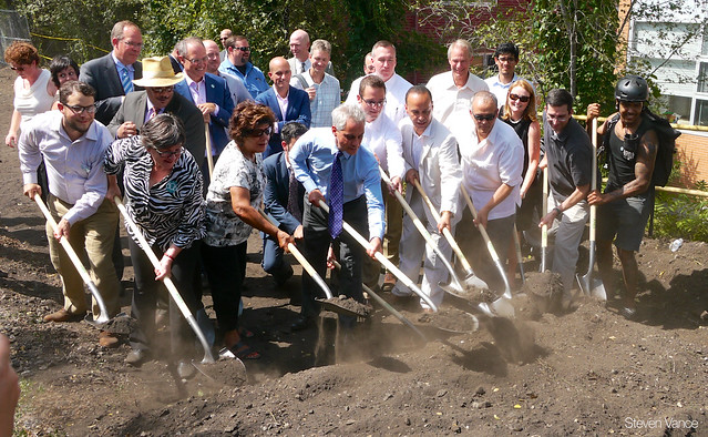 The Bloomingdale Trail (The 606) groundbreaking event