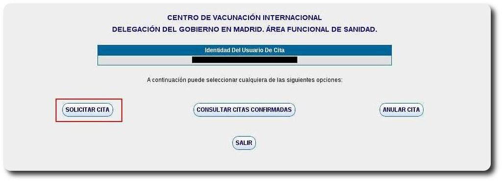 Vacunación internacional paso 3