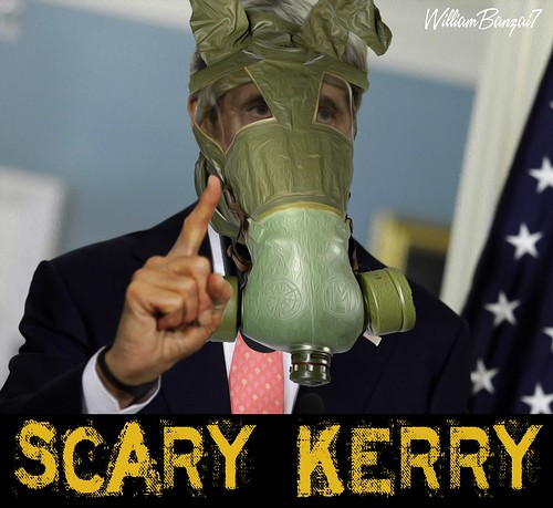 SCARY KERRY MASKED by WilliamBanzai7/Colonel Flick