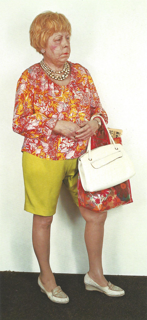 Duane Hanson, Florida Shopper, 1973