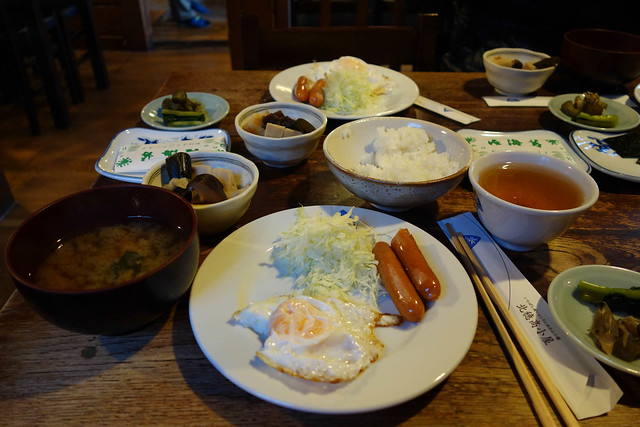 Traditional Kita-Ho breakfast