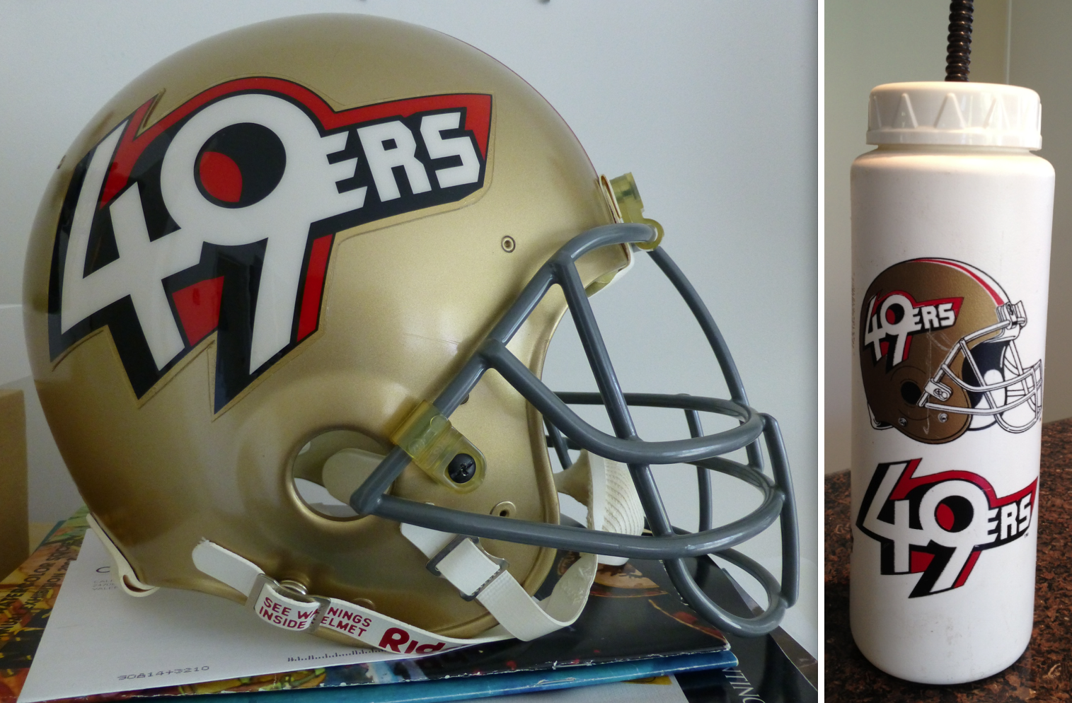 49ers alternative helmet capacete alternativo 1991 season temporada
