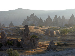 Wunderful Cappadocia in the morninglight