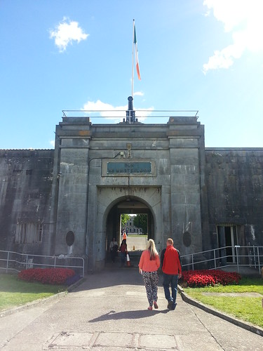 Entering Fort Mitchel on Spike Island (Cork). by despod