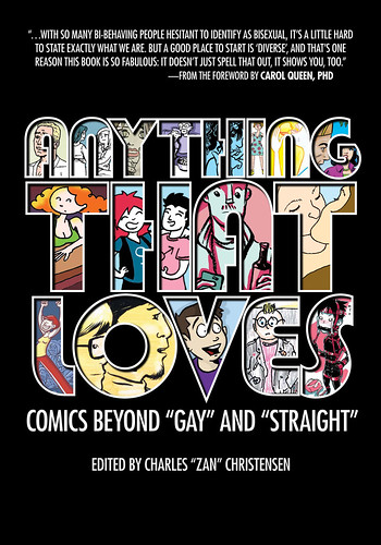 The cover for Anything That Loves
