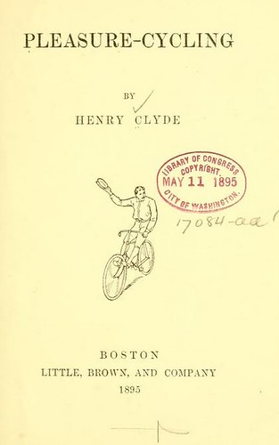 Pleasure-Cycling title page