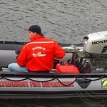 Lyndhurst Fire Department Rescue Boat, 2013 Head of the Passaic Regatta, Passaic River, New Jersey