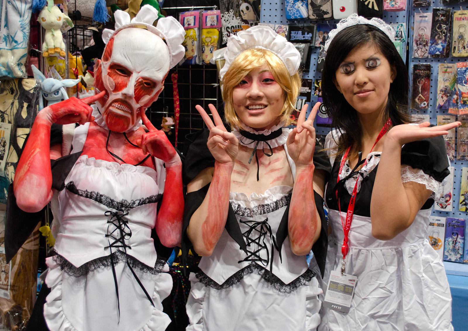 NYCC Titan Maids