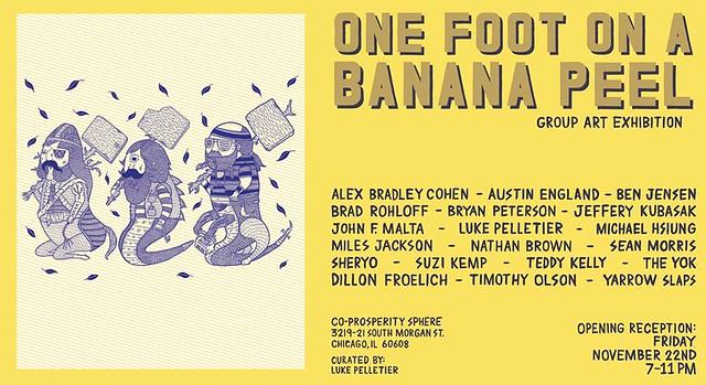 One Foot On A Banana Peel Group Show