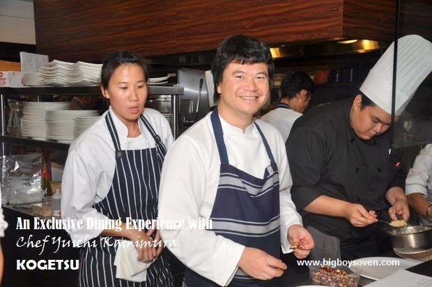 Chef Yuichi Kamimura at Kogetsu 12