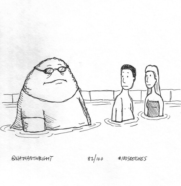 Fatberg goes to the pool