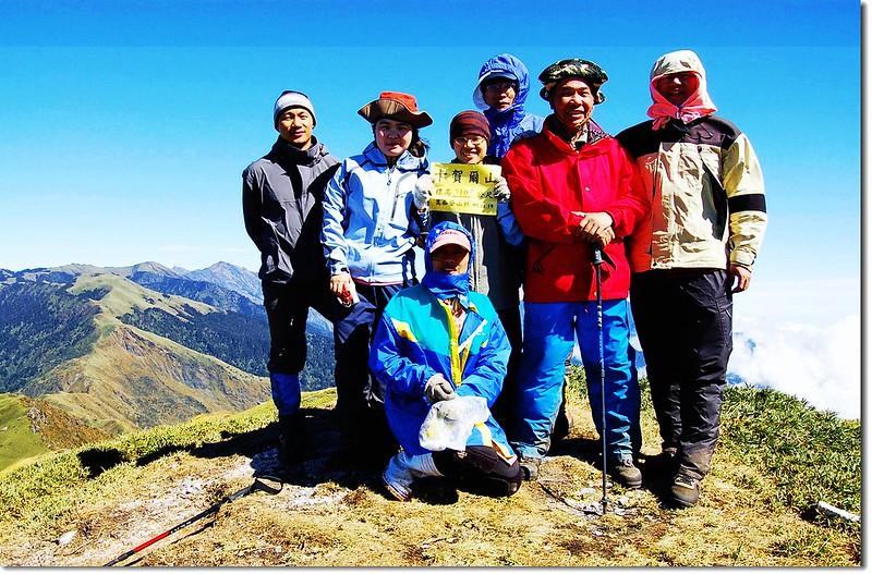 卡賀爾山頂(Elev. 3105 m)