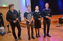 Brassbandfestivalen 2013 - Prisutdelning i Festivalklassen (Foto: Olof Forsberg)