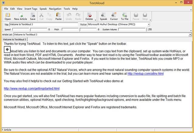 NextUp TextAloud 3.0.60 破解版