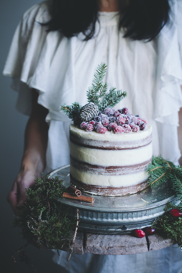 Call me cupcake: Soft gingerbread cake with cream cheese frosting and ...