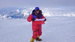 Jestem na szczycie Mt. McKinley (Denali) 6149m