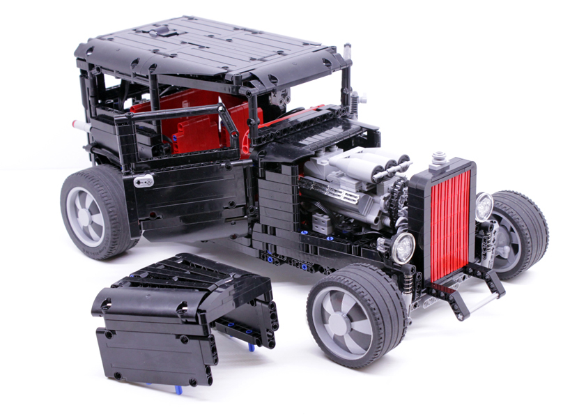 instructions 1932 ford hot rod lego technic. Black Bedroom Furniture Sets. Home Design Ideas
