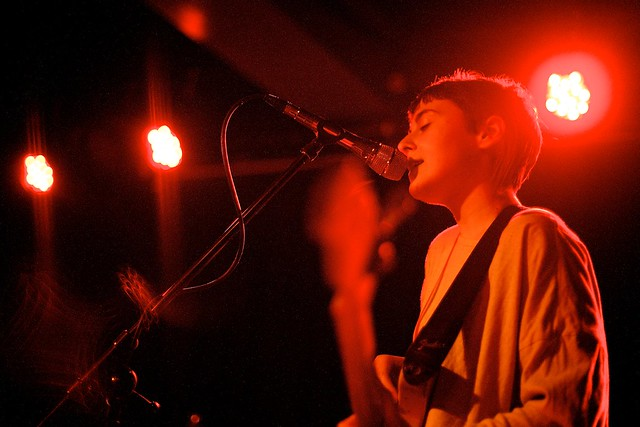 Flowers supporting Joanna Gruesome