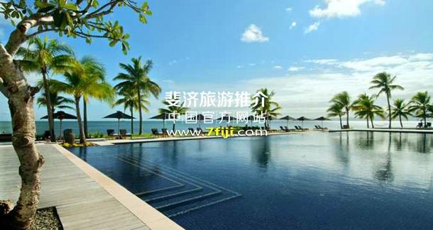 斐济希尔顿沙滩酒店游泳池