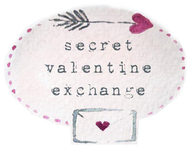Secret Valentine Exchange Illustration