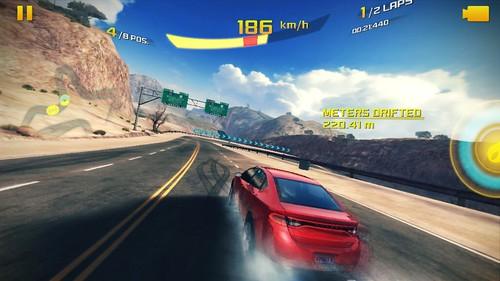 เกม Asphalt 8: Airborne High Quality บน Samsung Galaxy Grand 2