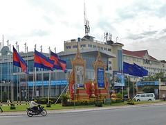 Roundabout on Norodom Boulevarde