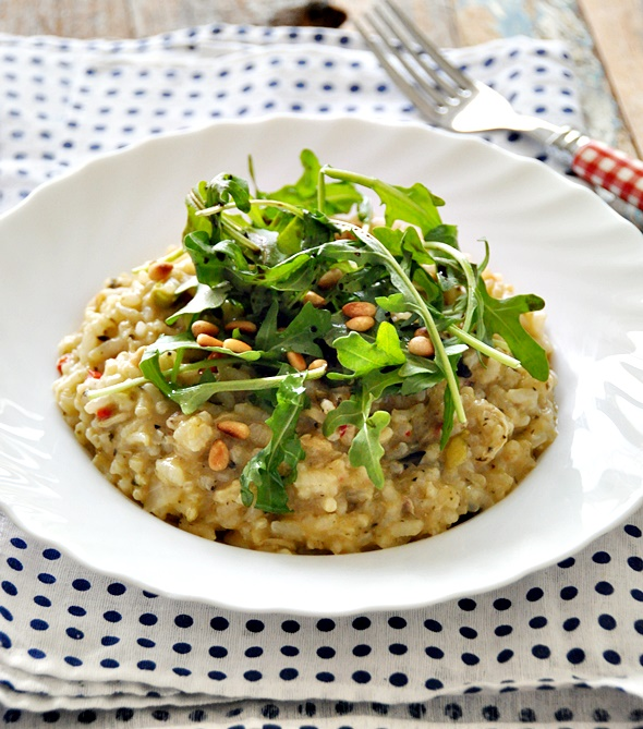 Pitango Risotto Chicken & Garlic Review | www.fussfreecooking.com