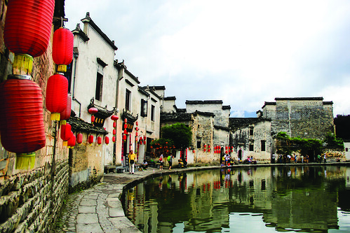 """This photo was taken during my trip this summer to Hongcun, a village with well-protected buildings from hundreds of years ago. This village has special cultural and historical beauty, and my visit there was a rich and charming experience."" says public relations sophomore, Dai Yanyan.Photo: Dai Yanyan 