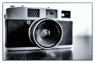 Olympus Auto Electro-set rangefinder camera