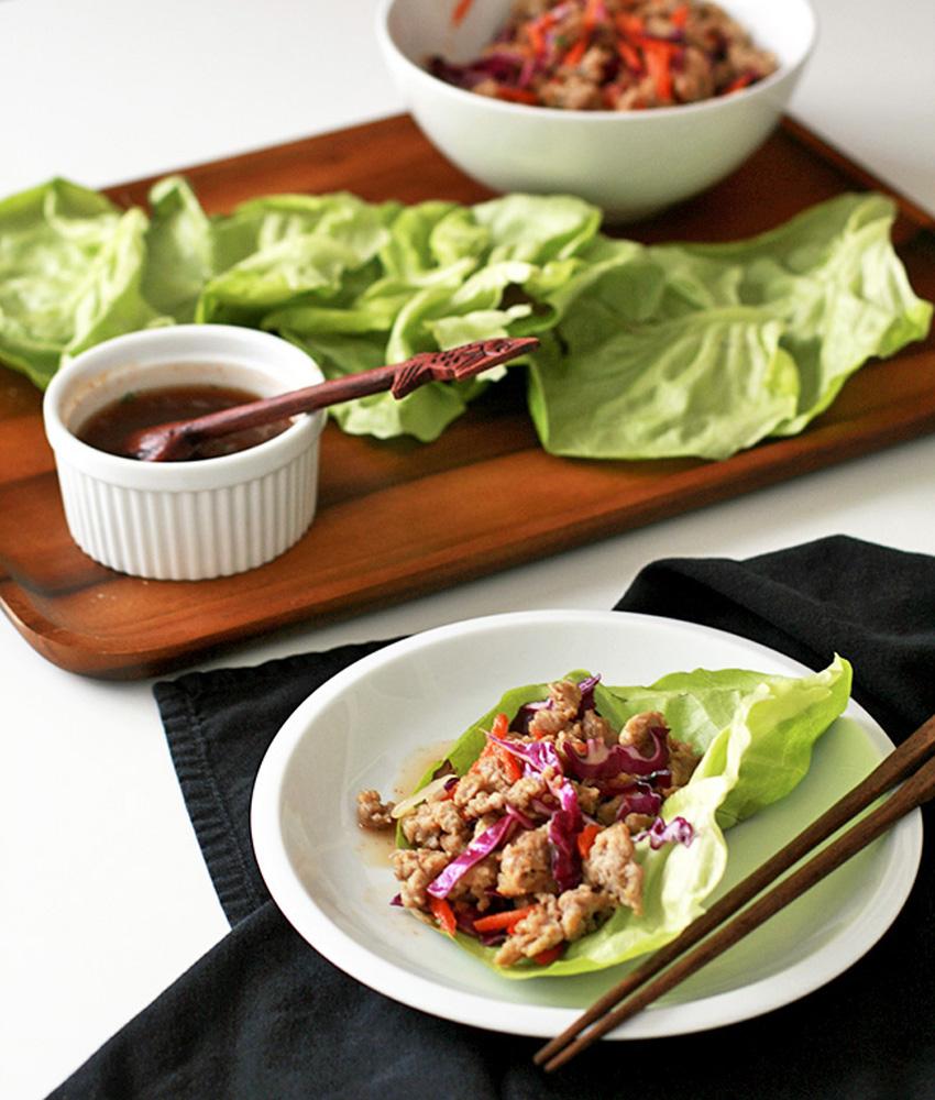 Thai Valentine Larb Lettuce Wraps 5