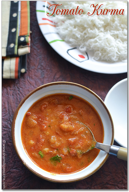 Thakkali Kurma Recipe