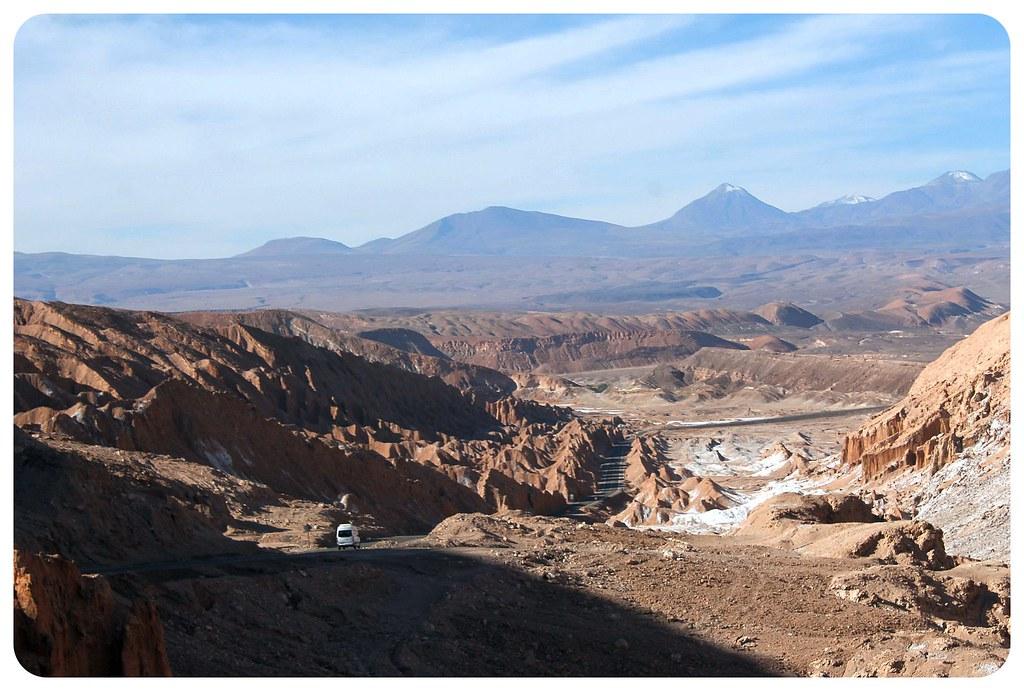 valle de la muerte atacama desert street