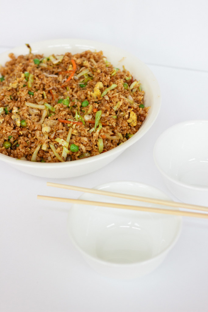 {brown fried rice}