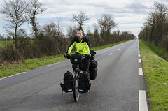 Pablo in the flattish roads of France