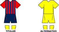 Uniforme Selección Sampedrana de Fútbol