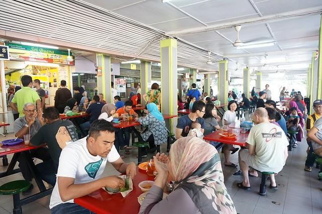 Halal breakfast in Penang Astaka Taman Tun Sardon-017