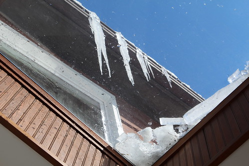 Icicles Above Skylight