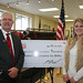 Phillips 66 Donation for Brayton Fire Training Field Improvements Feb 2014