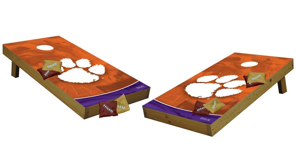 Clemson Tigers Premium Cornhole Boards