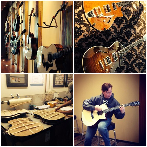 Taylor Guitar factory tour!
