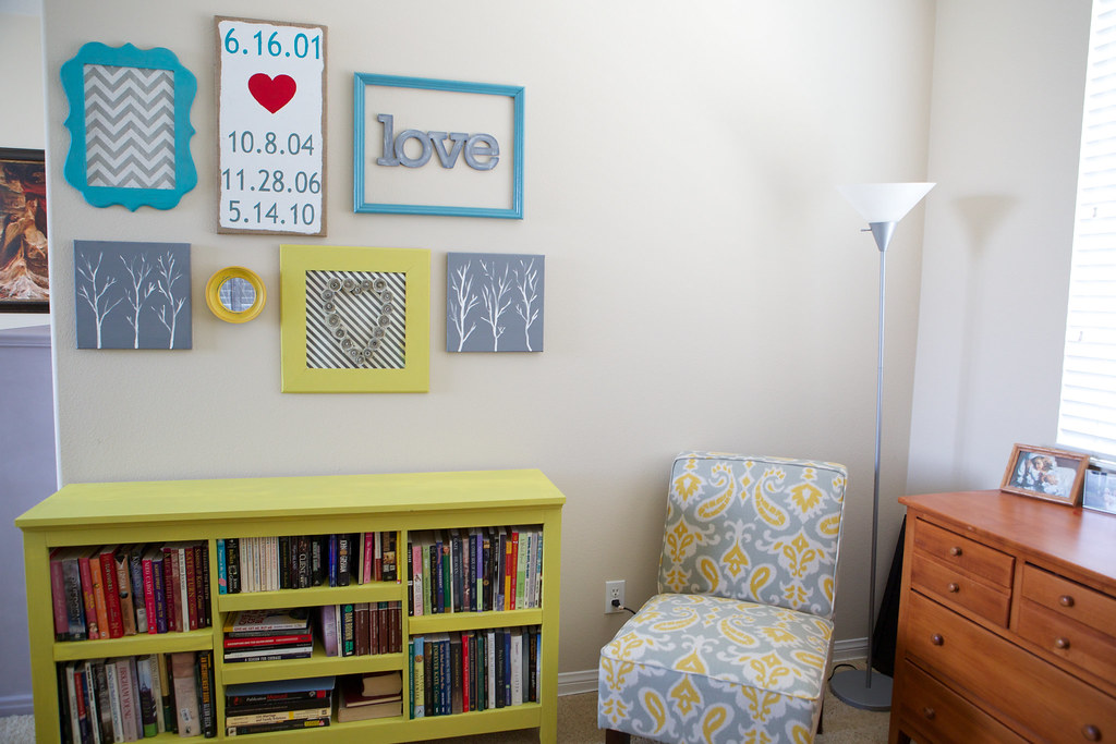 wall decor for reading nook