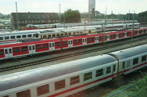 Trains in Cologne