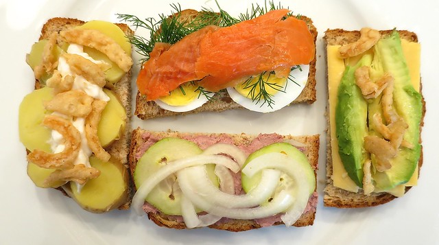3/4 Smørrebrød Lunch