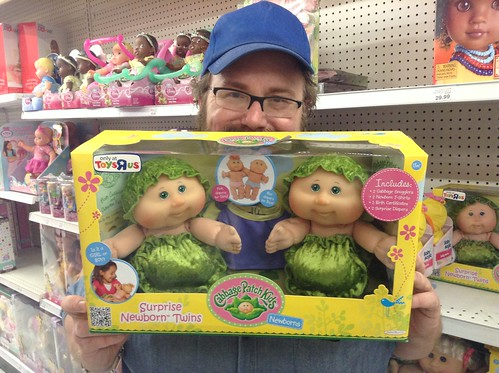 Cabbage patch kids tutor frog