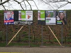 Election Posters in Naarden