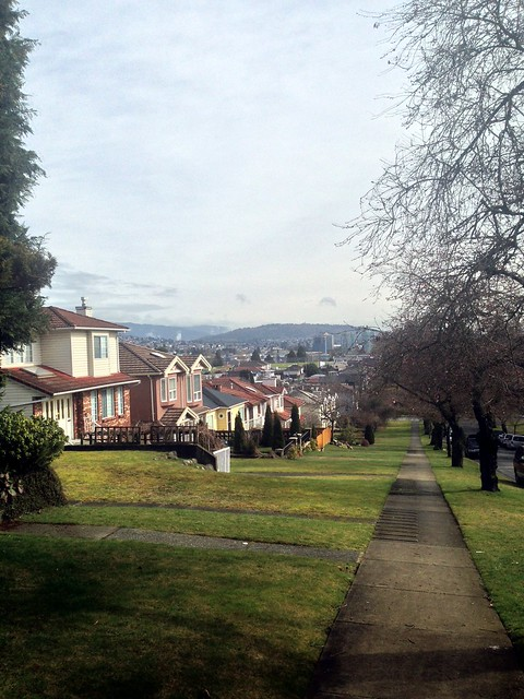 The View from E. 5th Ave. and Nootka St.