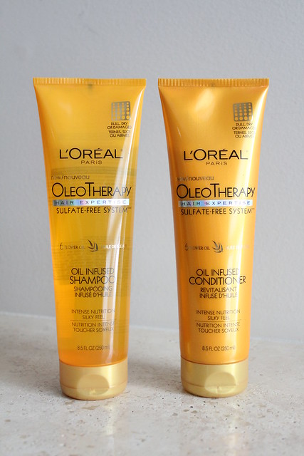 L'Oreal Paris OleoTherapy Oil Infused Shampoo review