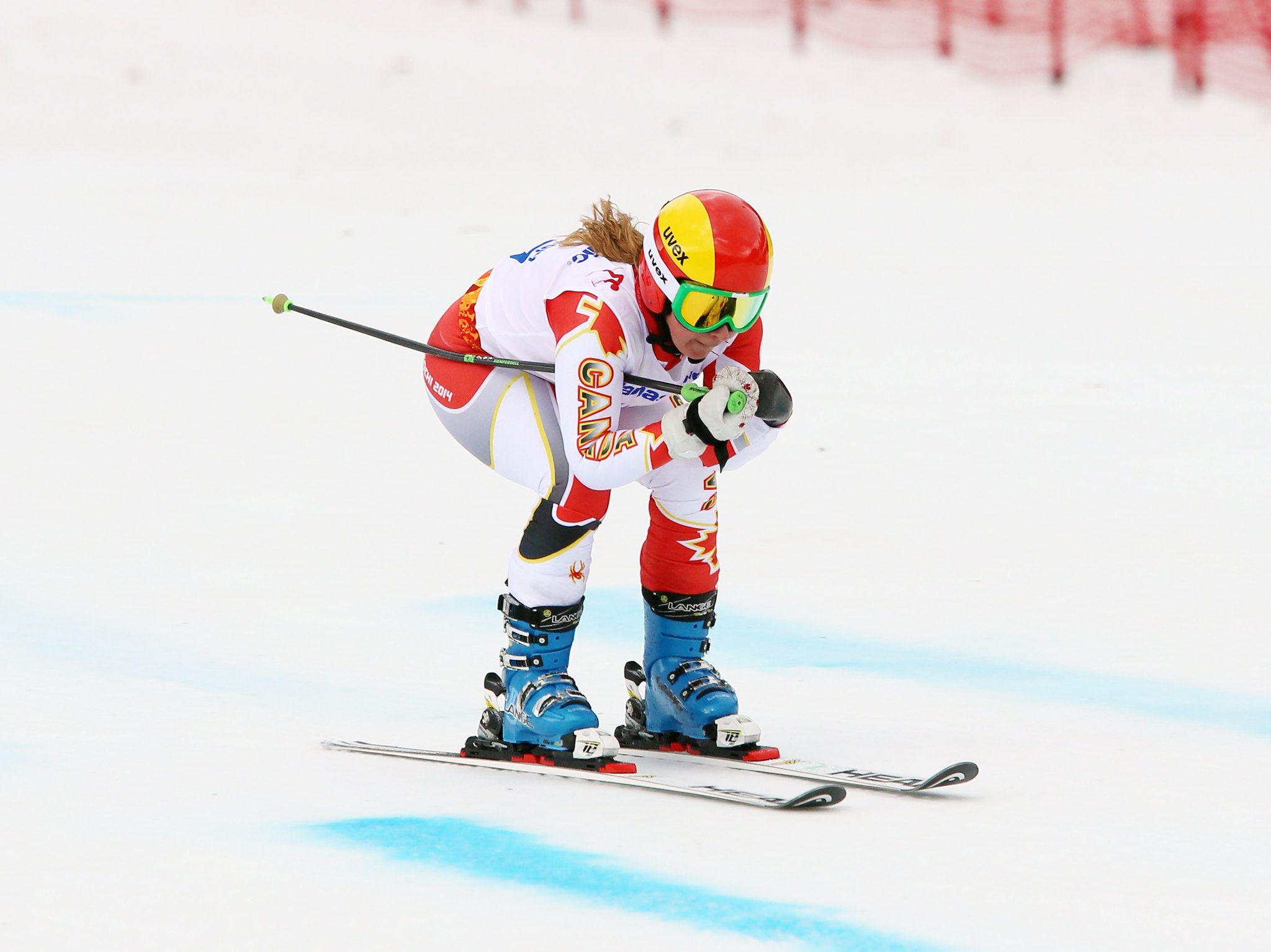 Alex Starker competes in her first Paralympic Winter Games in Sochi, RUS