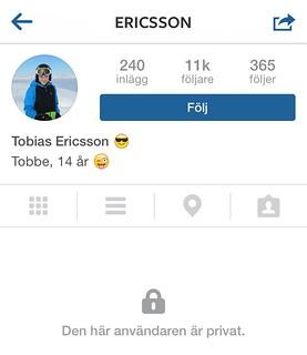 Ericsson Instagram