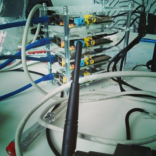 Pi Cluster mit Hadoop.